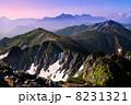 山岳 北アルプス 水晶岳の写真 8231321