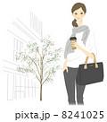 ベクター コーヒー 女性のイラスト 8241025