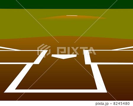 野球のダイヤモンド 8245480