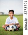 サッカー少年 8278701