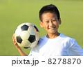 サッカー少年 8278870