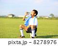 サッカー少年 8278976