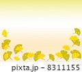 銀杏のシルエット 8311155