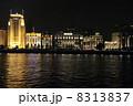 黄浦江 夜景 上海の写真 8313837