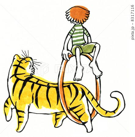 虎の輪くぐり 8317116