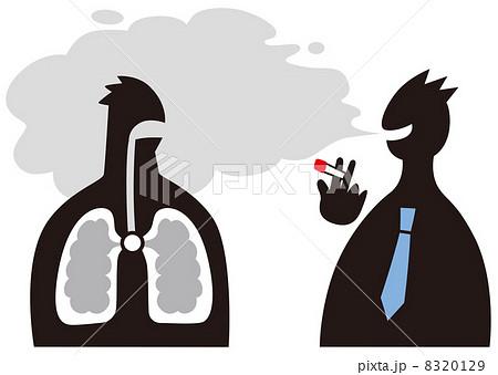 タバコの害のイラスト素材 [8320...