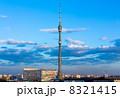 Ostankino Tele Tower evening 8321415
