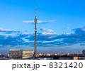 Ostankino Tele Tower evening 8321420