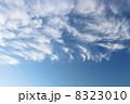 秋 雲 青空の写真 8323010
