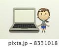 ノートパソコン OL パソコンの写真 8331018