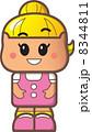 化身 女の子 女児のイラスト 8344811