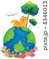 グラフィック 絵 タイガーのイラスト 8346013