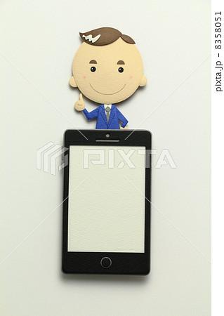 ペーパークラフトのスマートフォン 8358051