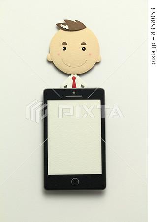 ペーパークラフトのスマートフォン 8358053
