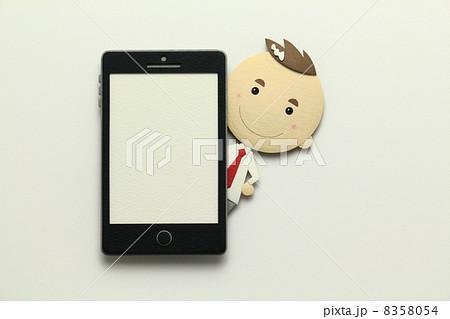 ペーパークラフトのスマートフォン 8358054