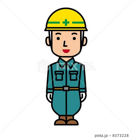 工事の作業員のイラスト素材 [83...