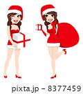 クリスマス サンタ サンタクロースのイラスト 8377459
