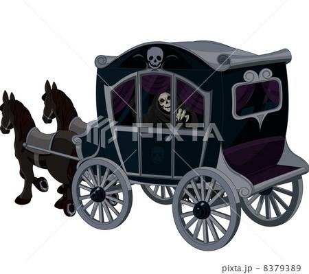 Halloween Carriageのイラスト素材 [8379389] - PIXTA