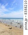 海水浴場 海水浴 砂浜の写真 8388210