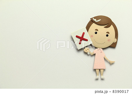 ペーパークラフトの看護師 8390017