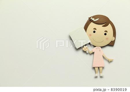 ペーパークラフトの看護師 8390019