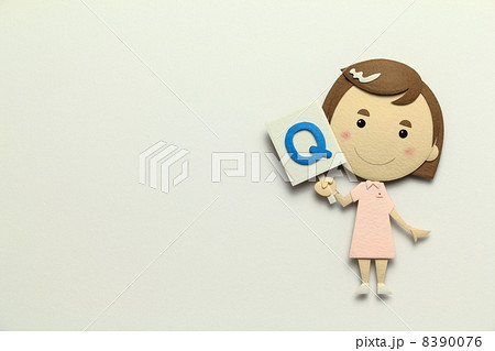 ペーパークラフトの看護師 8390076