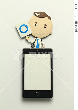 ペーパークラフトのスマートフォン 8390161