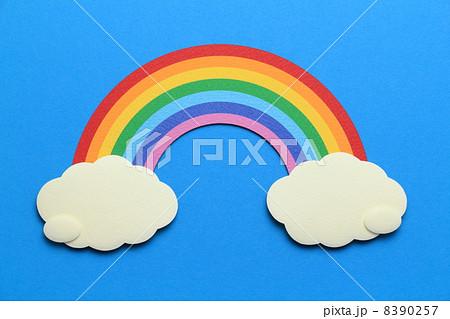 ペーパークラフトの虹 8390257