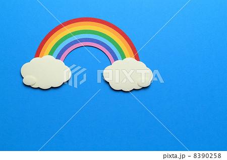 ペーパークラフトの虹 8390258