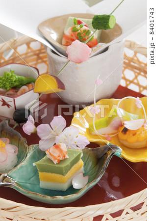 和食の前菜の写真素材 [8401743] - PIXTA