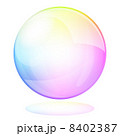 しゃぼん しゃぼん玉 ベクターのイラスト 8402387