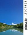 夏の八甲田地獄沼ポスター向け写真素材 8407675