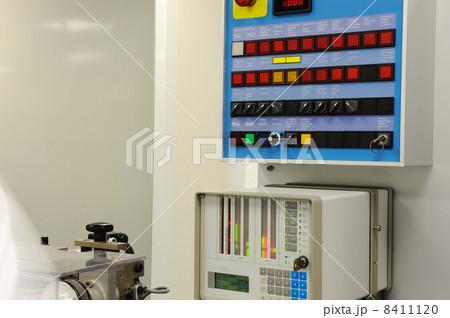 Switch panel at modern factoryの写真素材 [8411120] - PIXTA