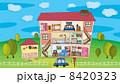 Inside a house 8420323