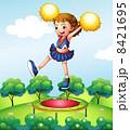 グラフィック 女の子 女子のイラスト 8421695