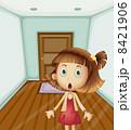 Girl inside a house 8421906