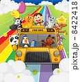 A zoo bus full of animals 8422418