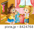 絵 女の子 少女のイラスト 8424768