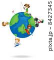 惑星 絵 スケッチのイラスト 8427345