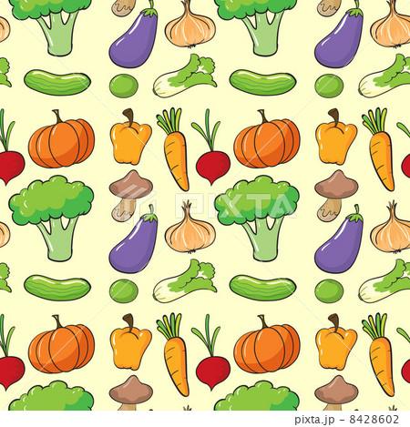 a vegetablesのイラスト素材 [8428602] - PIXTA