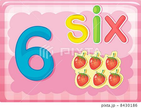 number cardsのイラスト素材 8430186 pixta
