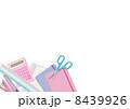 筆記用具 筆記具 文房具のイラスト 8439926