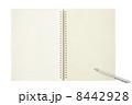 開かれたノート 8442928