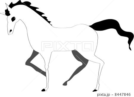 馬(モノトーンカラー) 8447846