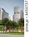 GUANGZHOU - NOV 23: Buildings of GT Land Plaza, Pearl River Towe 8450737