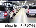 TOGLIATTI - SEPTEMBER 30: New shiny passenger car at Avtovaz fac 8450749