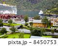 FLAM - JULY 27: Ships Costa Luminosa, Lady Elisabeth and Fjord K 8450753