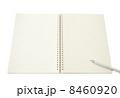 開かれたノート 8460920