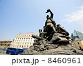 socialistic monument on a main square , on april 28, 2013, Vladivostok. Russia. 8460961