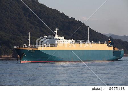 広島港 マツダ自動車運搬船 内航自動車船 8475118